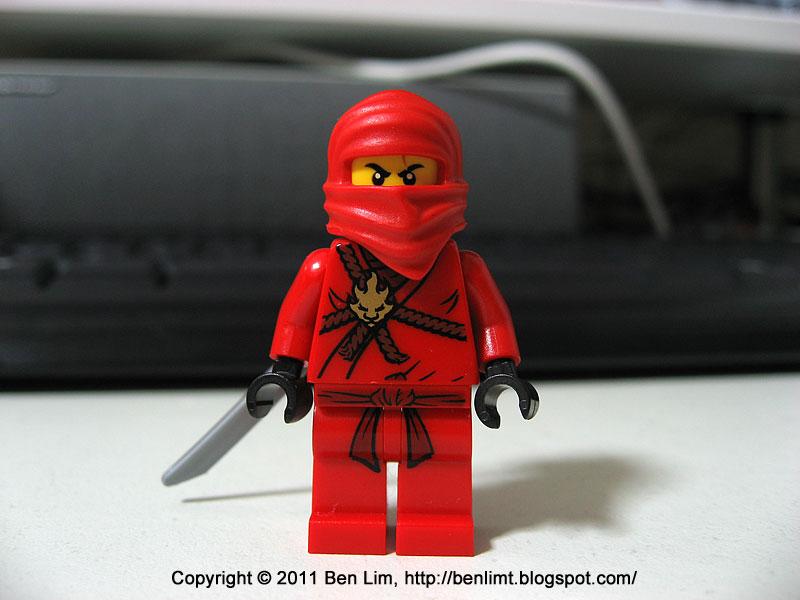 Ben Lego Ninjago Ninja Ambush 2258