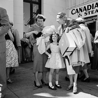Racial Canadians in the 1950s