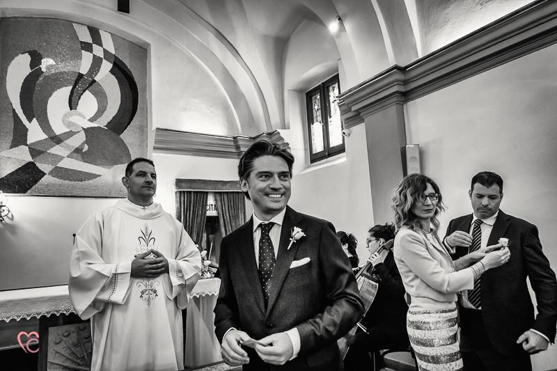 attesa dello sposa al santuario della Madonna di celle
