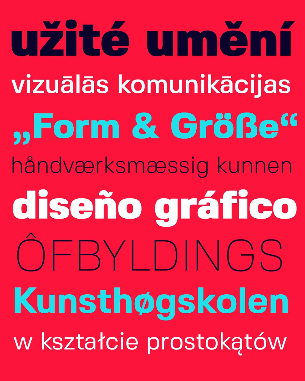 Fivo Sans Tipografía gratuita