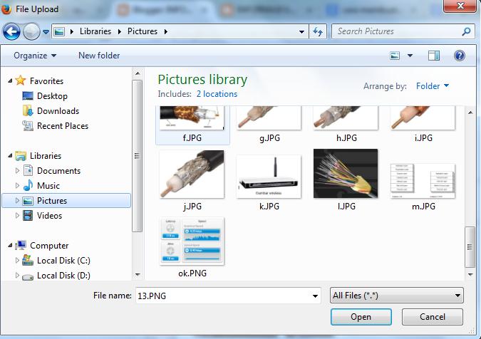 Menyisipkan Gambar dalam Blog