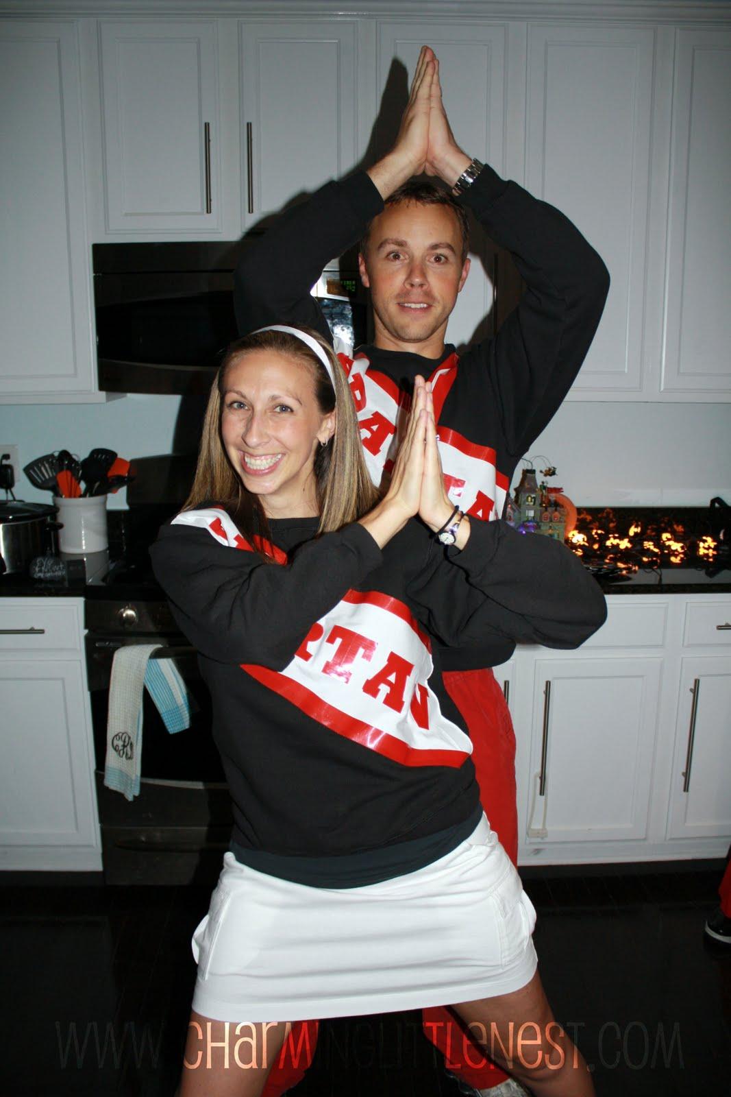 sc 1 st  Bake Bop & Adult Spartan Cheerleader Outfit Cheerleader costumes t