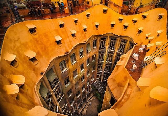 La Pedrera Casa Milá em Barcelona