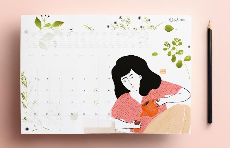 Calendário para imprimir