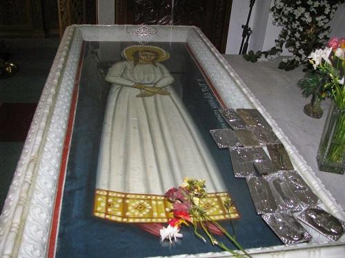 Αποτέλεσμα εικόνας για Ο Τάφος της Αγίας Ειρήνης