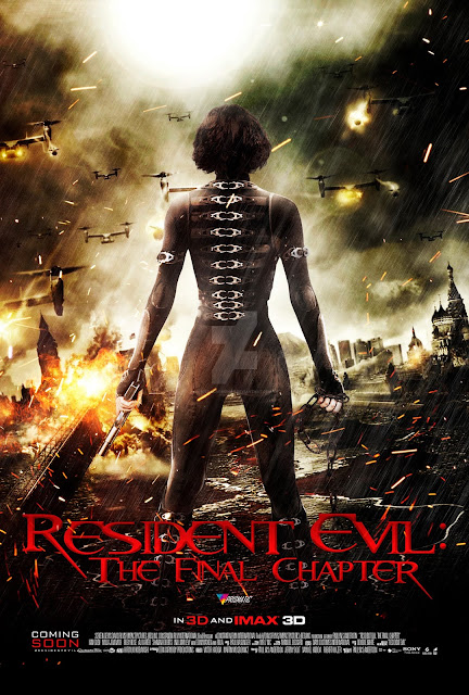 Resident Evil: The Final Chapter (2016) ταινιες online seires oipeirates greek subs