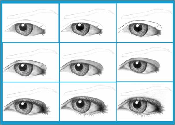göz nasıl çizilir,