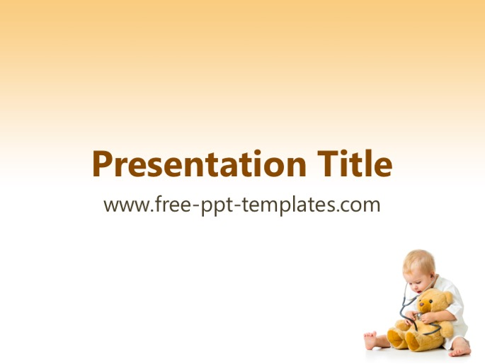 Pediatrics powerpoint template toneelgroepblik Gallery