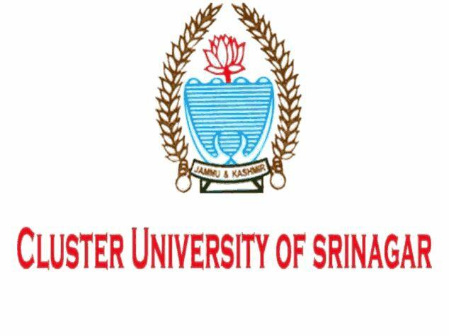 Cluster University Srinagar CU Srinagar Jobs Recruitment 2019
