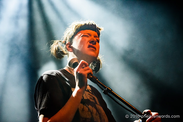 Dilly Dally at The Danforth Music Hall on October 30, 2016 Photo by John at One In Ten Words oneintenwords.com toronto indie alternative live music blog concert photography pictures
