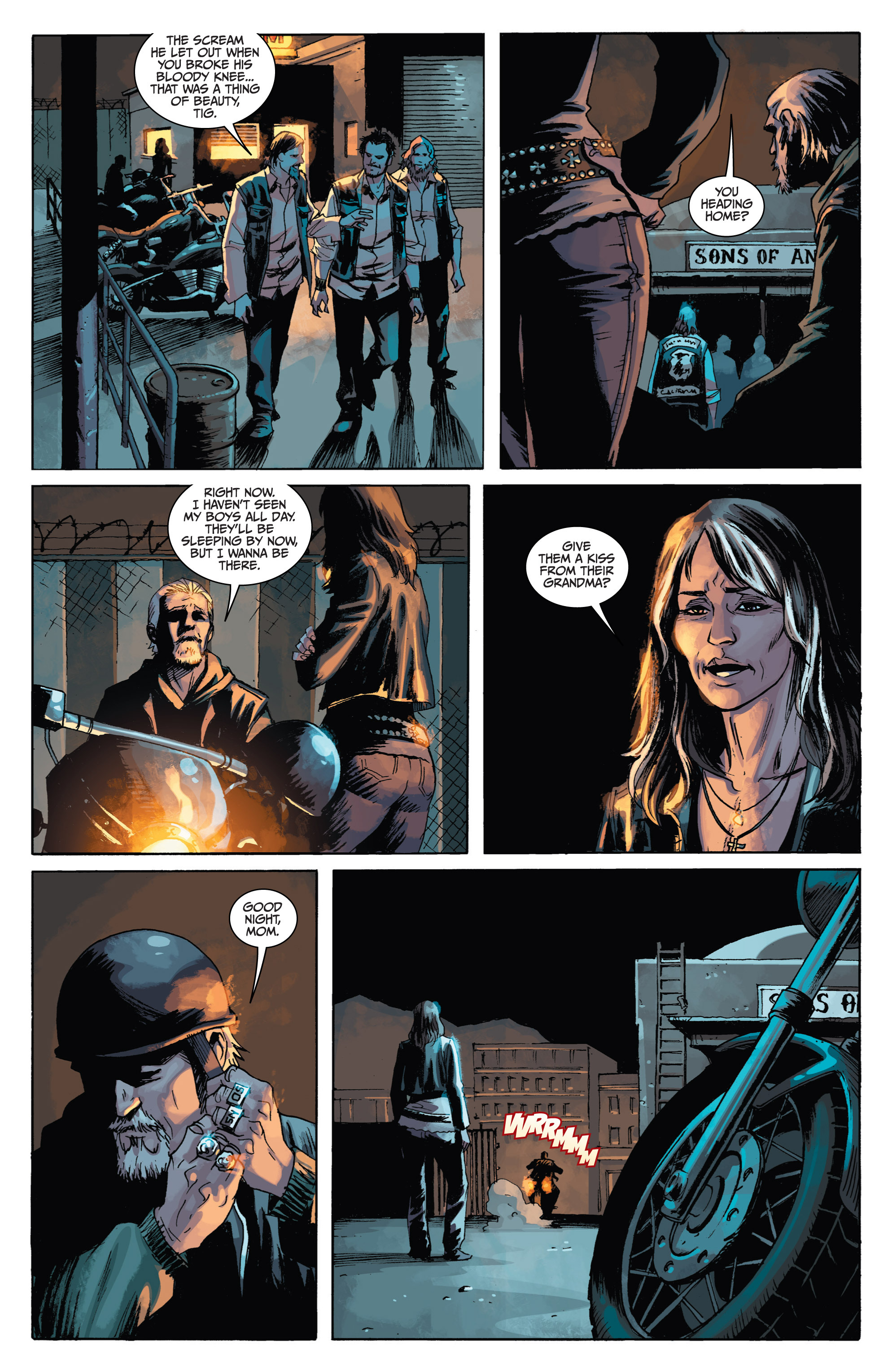 Read online Sons of Anarchy comic -  Issue #1 - 20