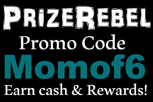 PrizeRebel.com Promo Code, Prize Rebel Invite, PrizeRebel Rewards