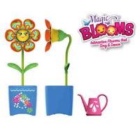 Magic Bloom est une fleur interactive qui danse et chante.