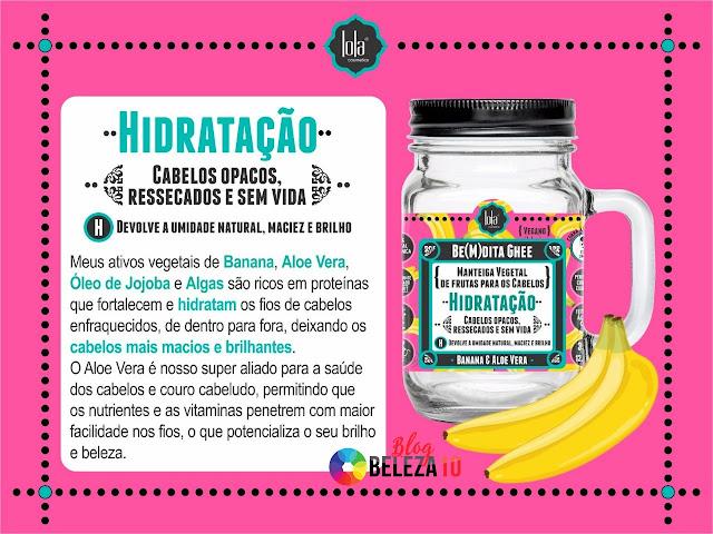 Bemdita Ghee Hidratação Lola Cosmetics - Beleza 10