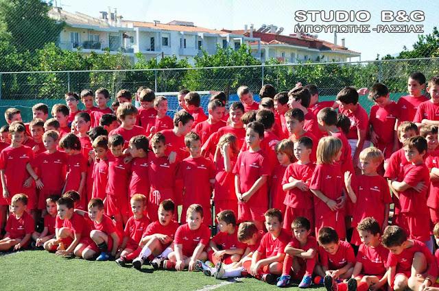 Ο Πανναυπλιακός ξεκινάει ακαδημίες ποδοσφαιριστών-τερματοφυλάκων για παιδιά 4 έως 15 ετών
