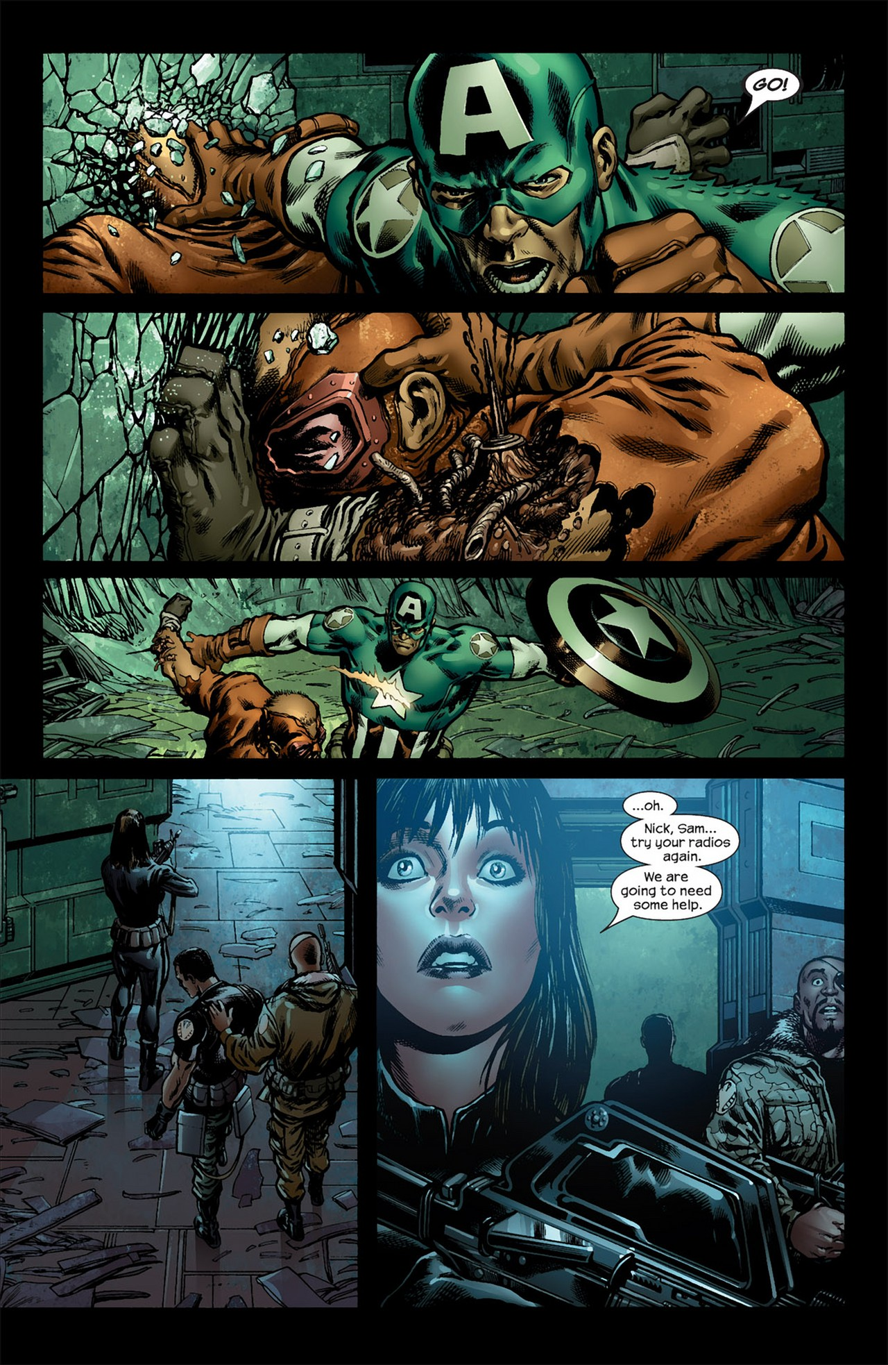 Read online Ultimate Nightmare comic -  Issue #5 - 7