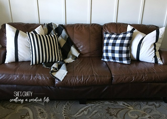 throw pillows, pillow covers, black and white pillow covers