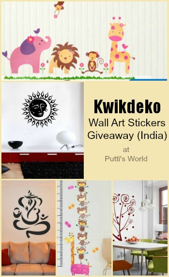 Kwikdeko Wall Art Stickers India