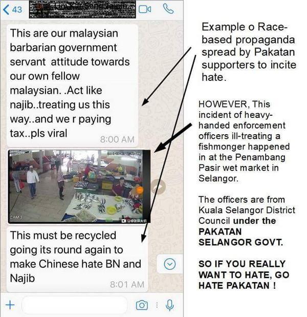[Video] Penguatkuasa bertindak kasar: kejadian di Negeri Pakatan Selangor, Kerajaan Pusat yang dituduh dan BN dituduh perkauman oleh DAP