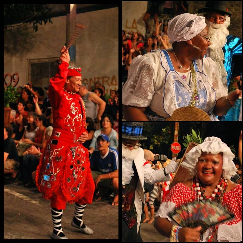 Carnaval. Desfile de Llamadas. Montevideo.Tronar de Tambores. 2010.