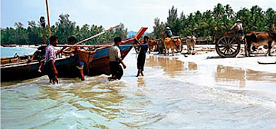 ngapali beach fishermen