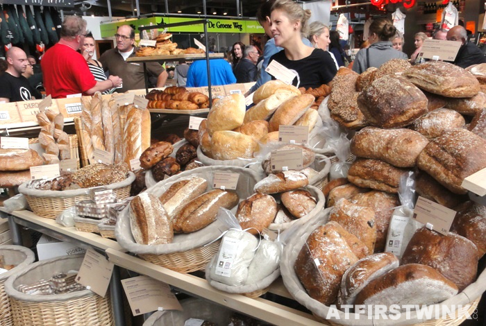 rustic bread | Markthal in Rotterdam