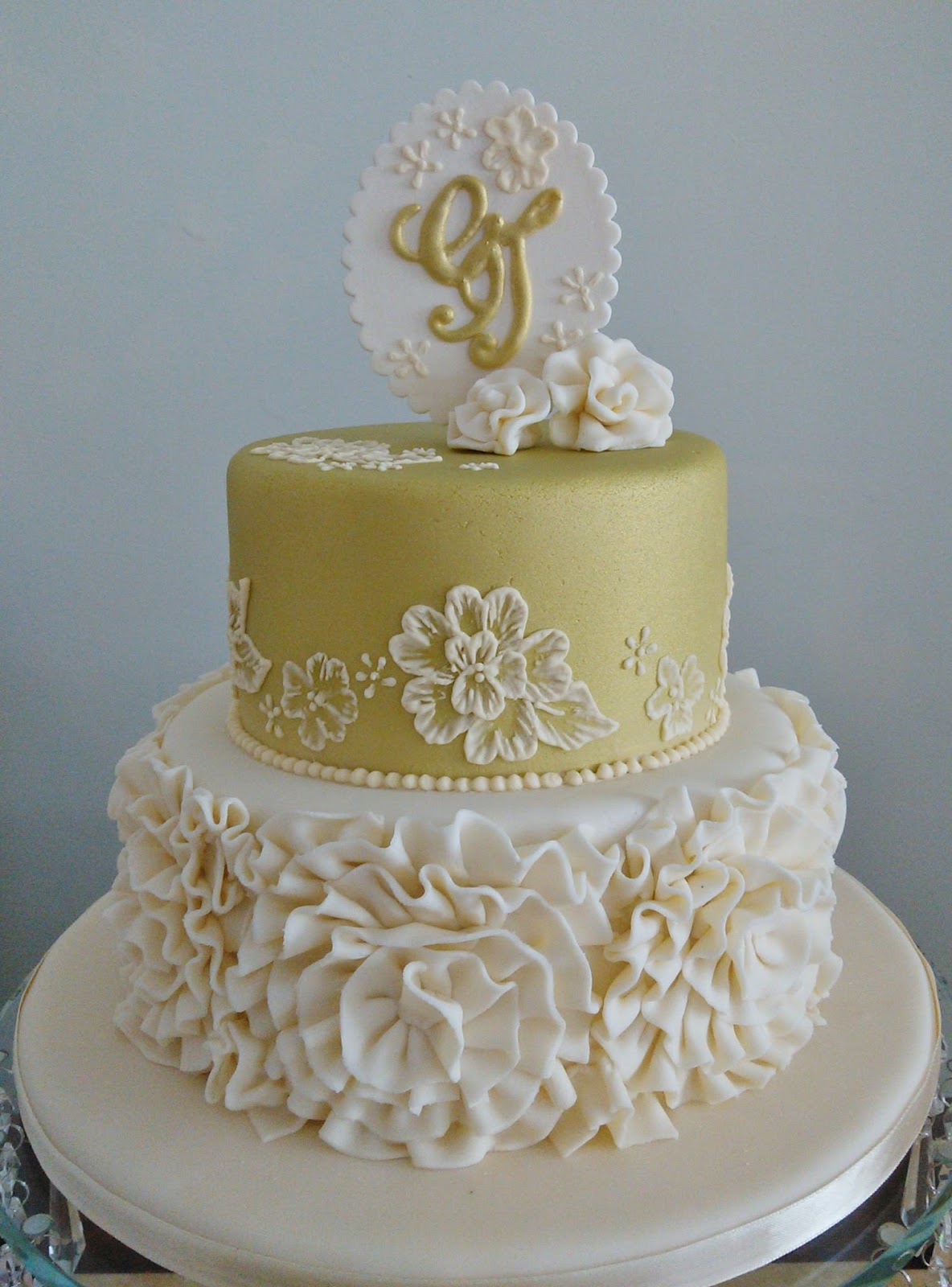 Create A Monogram By Printing And Using Royal Icing