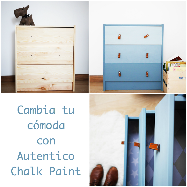 comoda ikea chalk paint