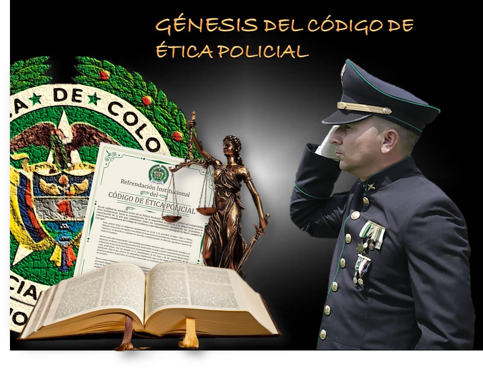 Momentos de historia de la Policía Nacional de Colombia : Génesis ...