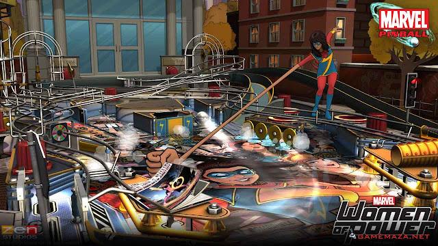 Pinball FX2 Marvel Women of Power Gameplay Screenshot 3