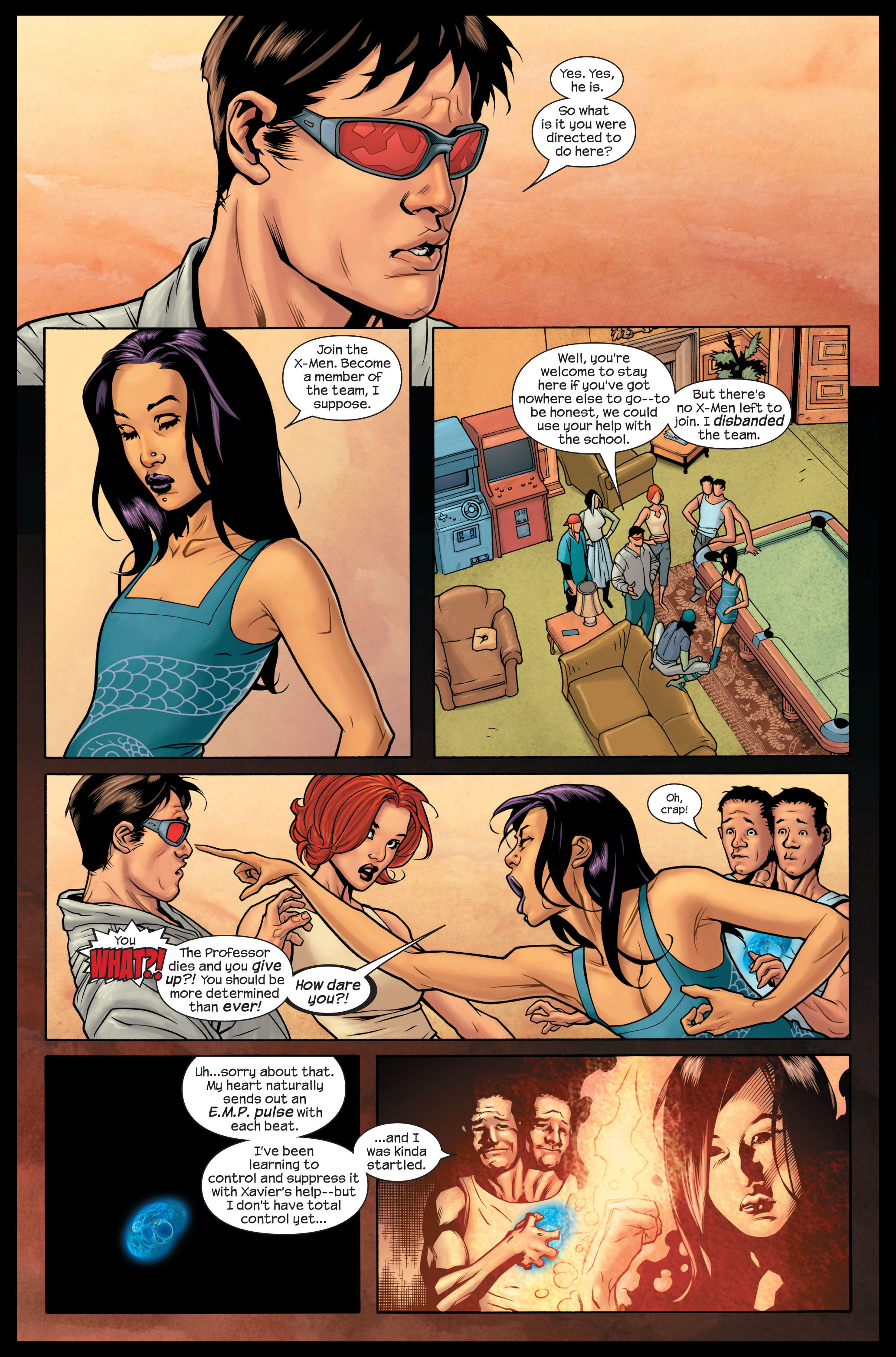 Read online Ultimate X-Men comic -  Issue #84 - 10