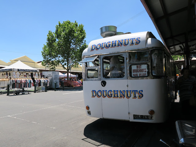 doughnut van, queen victoria market, Melbourne, Australia
