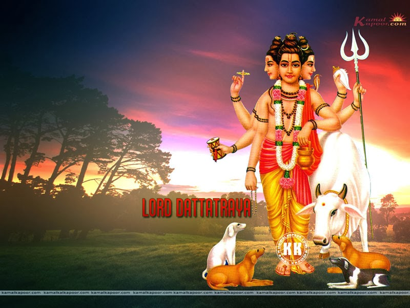 Dattatreya Photos Picture Wallpaper Download: Lord Dattatreya Beautiful Pics For Temple