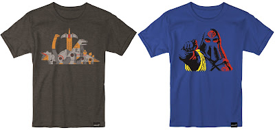 New York Comic Con 2017 Exclusive Transformers & G.I. Joe T-Shirts by Super7 – Geometric Dinobots & Cobra Commander