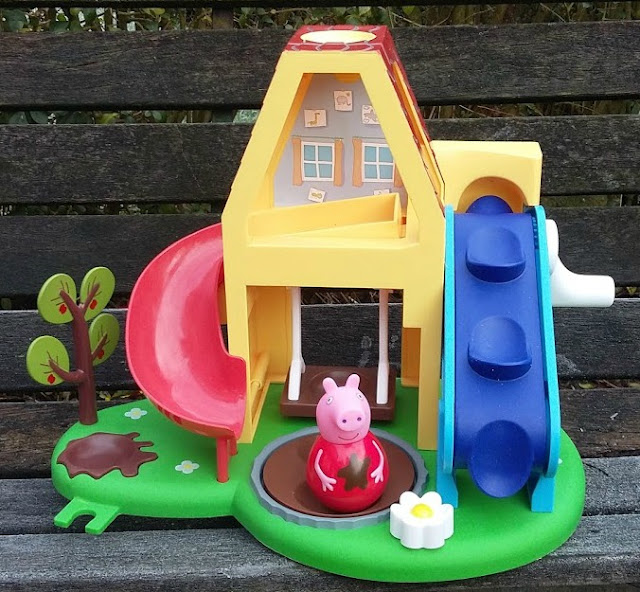 Peppa Pig Weebles Wind and Wobble Playhouse Blog Review