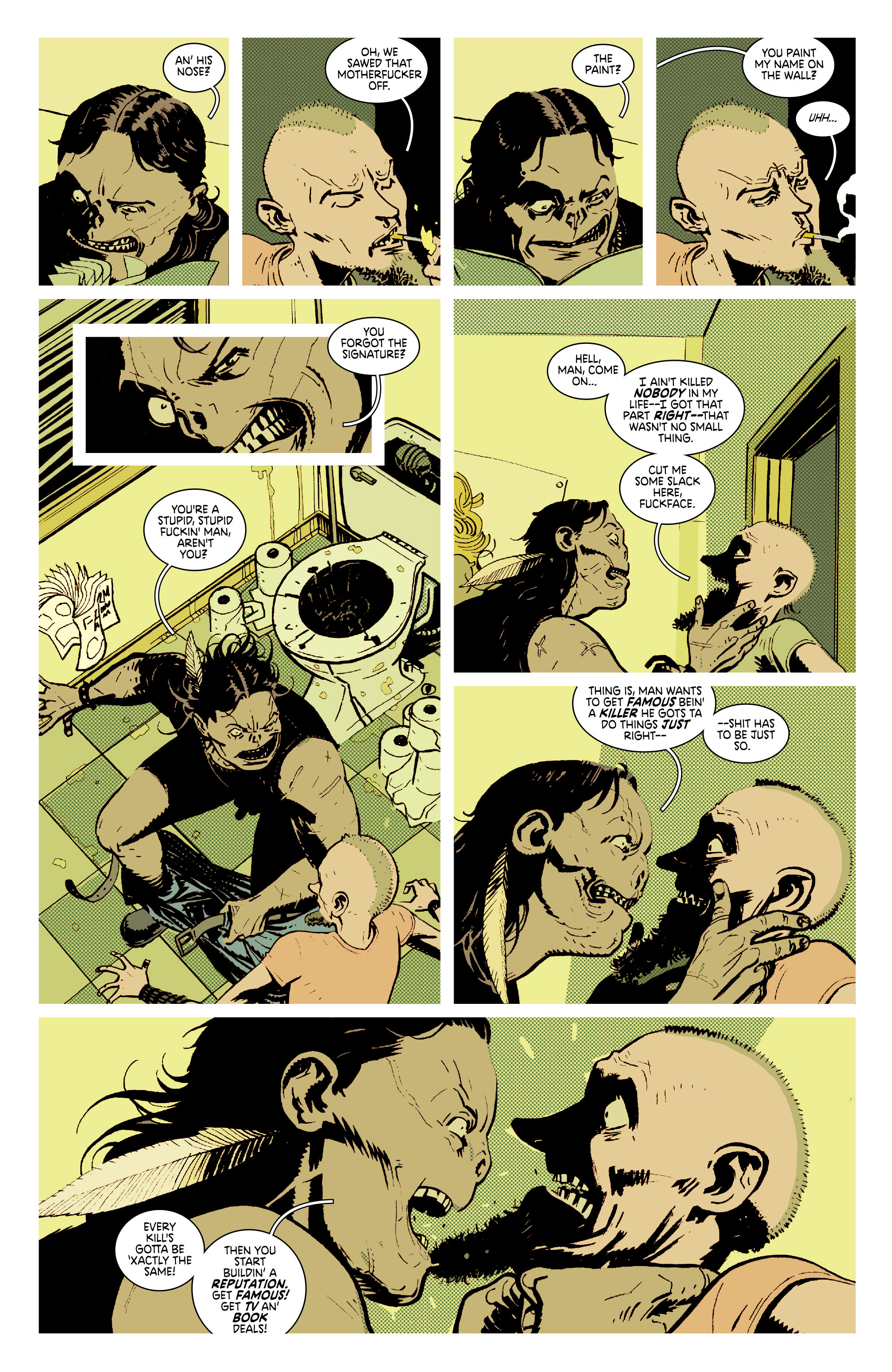 Read online Deadly Class comic -  Issue #7 - 22