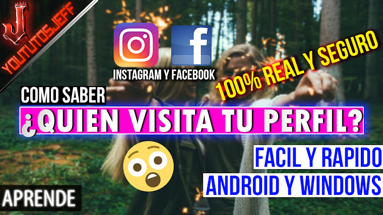 Como saber quien VISITA mi perfil de INSTAGRAM y FACEBOOK | 100% Efectivo(WINDOWS y ANDROID)