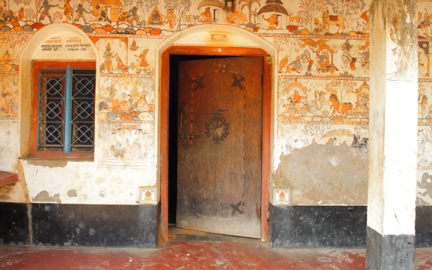 Raghurajpur Chitrakaars decorate even their homes with their paintings