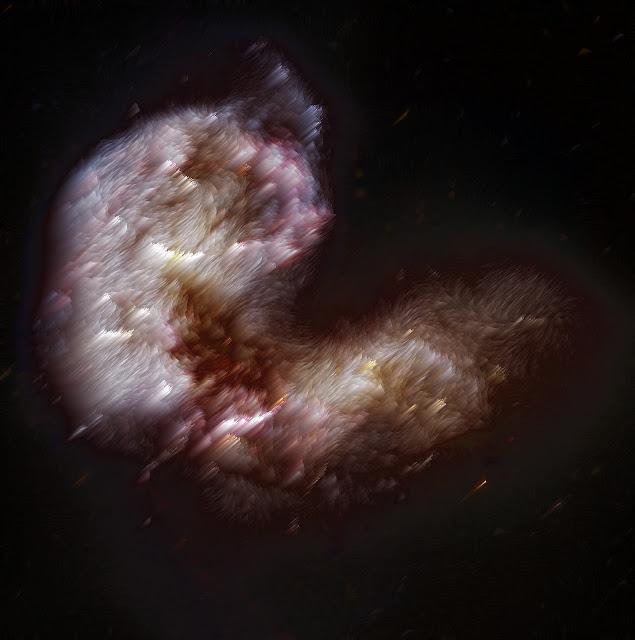 fotos creativas del universo, nebulosas, estrellas, cometas, cielos, galaxias