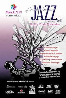 Festival del Jazz en Mazunte