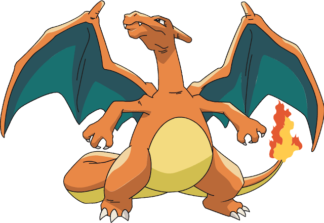 Charizard: 4% base-capture rate
