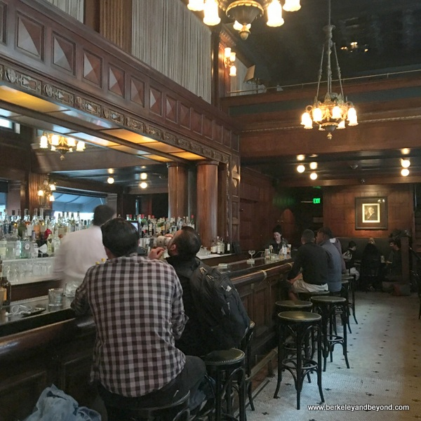 bar at House of Shields in San Francisco