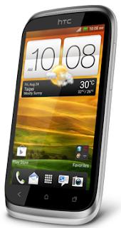 Cara Reset HTC Desire X lupa pola & password
