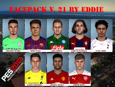 PES 2017 Facepack vol 21 by Eddie Facemaker