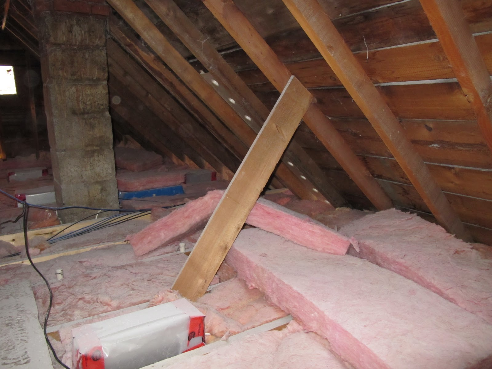 Adventures At 1628 How To Insulate An Attic