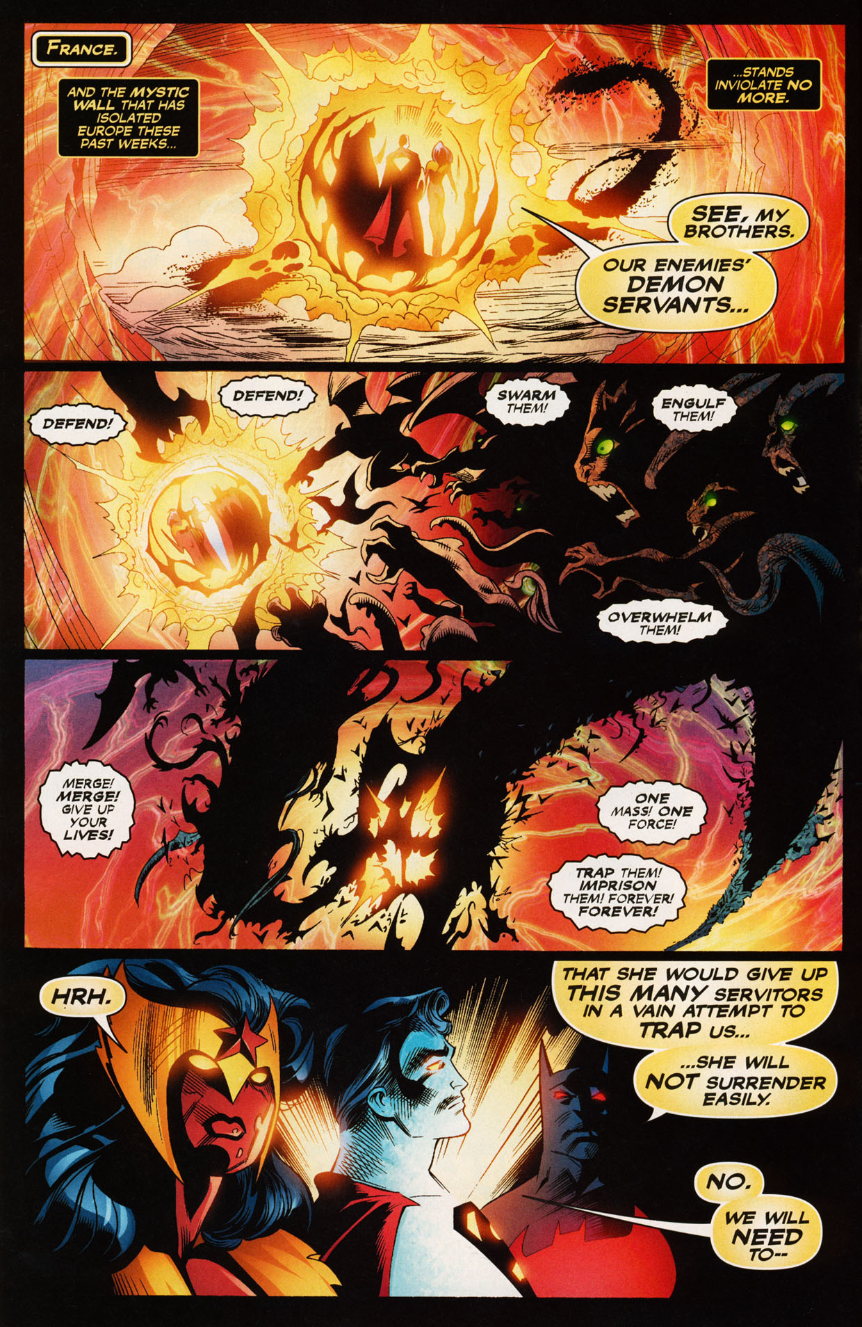 Read online Trinity (2008) comic -  Issue #43 - 5
