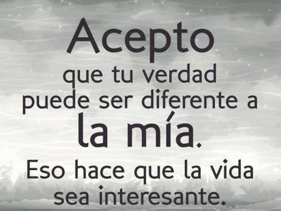 Tu vida es diferente a la mia