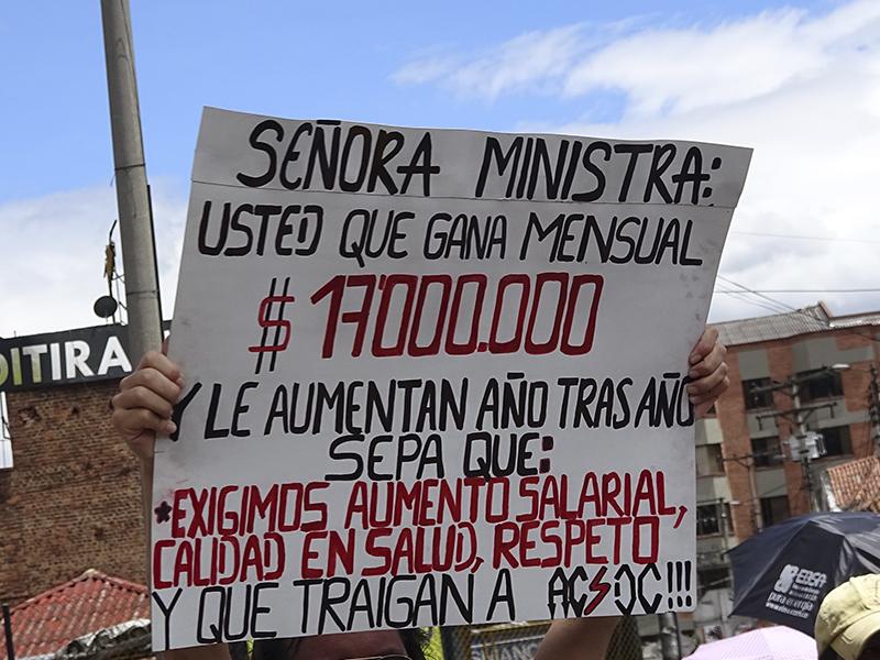 Apoteósica Toma de Bogotá con marchas multitudinarias del magisterio colombiano