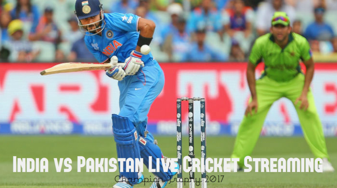 India vs Pakistan Live Cricket Streaming