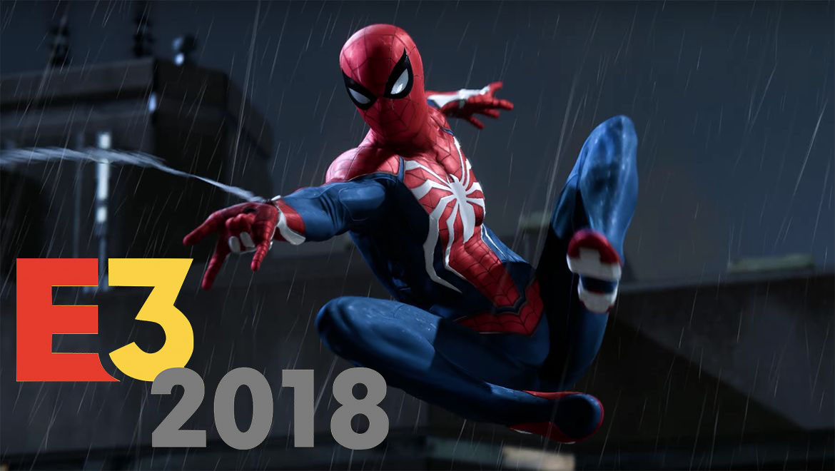 E3 2018 Spider-Man trailer Sony Ubisoft Square Enix